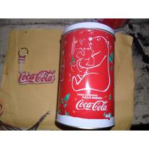 Lata Coca Cola De Navidad Y Llavero