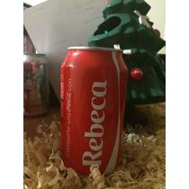 Lata Coca Cola Con Nombre Rebeca Llena