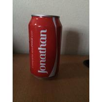 Lata Coca Cola Con Nombre Jonathan Llena