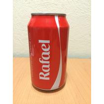 Lata Coca Cola Con Nombre Rafael Llena