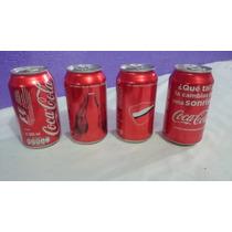Lote 4 Latas Coca Edic Especial,