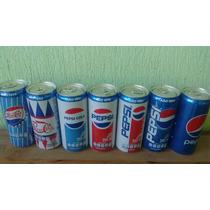 Pepsi Latas Lote 7 Nuevas Retro