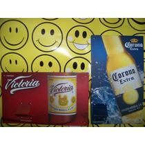 Destapador Cerveza Corona Victoria Nuevo De Metal 2 X $150