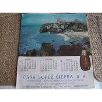 Antiguo Calendario De La Cerveceria Modelo