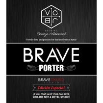 Brave Porter Cerveza Artesanal Mexicana Vc Jb Brewing