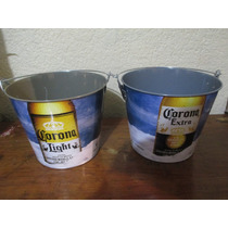 Cerveza Corona Cubeta Para 6 Botellas Mas Hielo