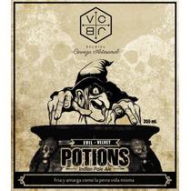Potions Ipa Indian Pale Ale Cerveza Artesanal Vc Jb Brewing