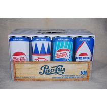 Latas De Pepsi Retro Caja Nueva