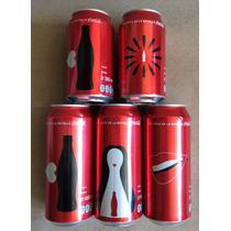 Coca Cola Coleccion 5 Latas Numeradas Ltd Edition 100 Años
