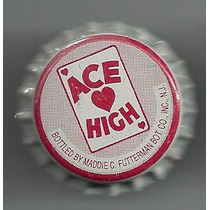 Corcholata Ficha Refresco Ace High ( E U A ) Lima-limon