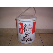 Cubeta Hielera Kentucky Fried Chicken De Plastico +++