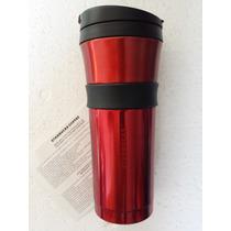 Termo Starbucks Coffee Acero Inoxidable Rojo 473ml.