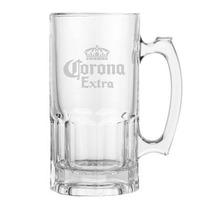 Tarro De Vidrio 1 Lt Corona Extra Vaso Modelo Nuevo Hogar