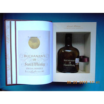 Buchanans Libro James Estuche Reserva18 Años C/botella Vacia