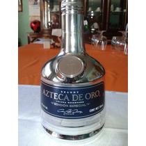 Botella De Azteca De Oro Conmemorativa Edicionespecial C/caj