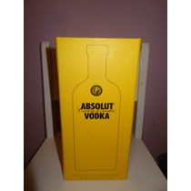 Caja Absolut Palacio De Hierro No Incluye Botella No Alcohol