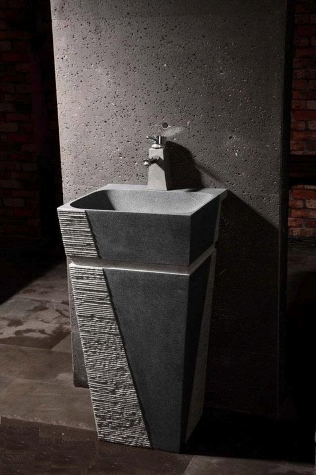 Lavabos Para Baños En Puebla:Lavabos De Pedestal En Mármol Y Ovalines P/baños Minimalista – $ 500