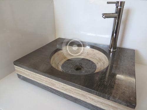 Lavabos Para Baño De Onix:Lavabos Mármol Onix Elite Decoración Baño Interiores – $ 75000 en
