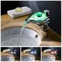 Llave Mezcladora Tipo Cascada, Led Con Sensor Temperatura