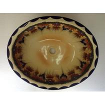 Lavabo Ovalin Talavera Unico Gran Calidad Grande