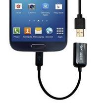 Micro Usb Otg Host Cable Adaptador A Usb 2.0 Para Samsung Ga