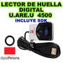 Lector De Huella Digital U.are.u 4500 Nuevo Garantia En Caja