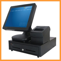 Terminal Punto De Venta Touch Screen All In One Pos Pc 15