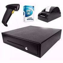 Kit Punto De Venta Lector Impresora Cajon Software Itpv 1.8