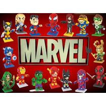 Lego Micro Block Super Heroes Marvel Civil War 24 Modelos