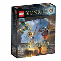 Lego Bionicle 70795 Mask Maker Vs. Skull Grinder Building Ki