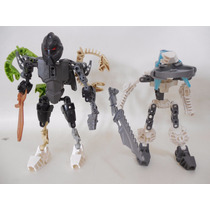 Lote 2 Bionicle Lego Figuras C926