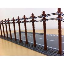 Lego Accesorios Piezas Para 10 Postes De Teléfono City