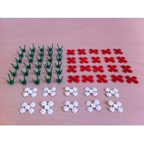 Lego Accesorios Lote Piezas Para 30 Flores City Creator