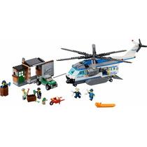 Lego City 60046: Helicóptero De Policía