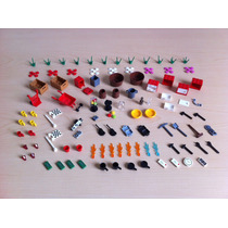 Lego Lote Accesorios Para Minifiguras City Creator Nuevos!!