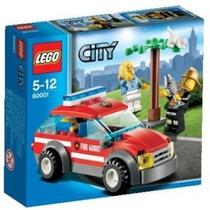 Lego City 60001 Coche Del Jefe De Bomberos!!!