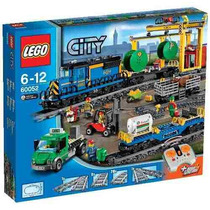 Lego City 60052 Cargo Train 888 Pzas Control Remoto