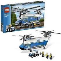 Lego City Policia 4439 Helicoptero De Carga Pesada