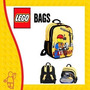 Mochila Escolar Back Pack Lego City Construction Original