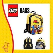 Mochila Escolar Back Pack Lego City Construction Original