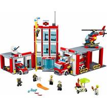 Lego - City 60110-estación De Bomberos