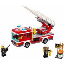 Lego - City 60107-camión De Bomberos Con Escalera