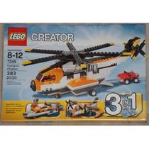 Lego Creator Transport Chopper 3 En 1 - 7345