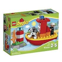 Kit Lego Duplo Ciudad 10591 Fuego Edificio Barco