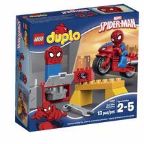Lego Duplo El Taller De La Moto Araña De Spiderman 10607