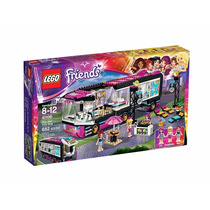 Lego Friends 41106 Pop Stars Autobus 682 Piezas.