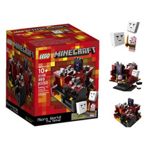 21106 Minecraft Micro World The Nether Lego Ugo Envio Gratis