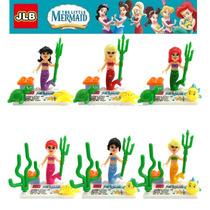 Figuras Tipo Lego De La Sirenita