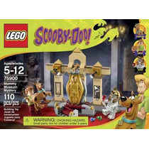 Juego Lego Scooby-doo 75900 Museo De Las Momias Kit