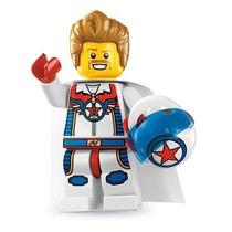 Lego 8831 Minifiguras Serie 7 Piloto De Carreras!!
